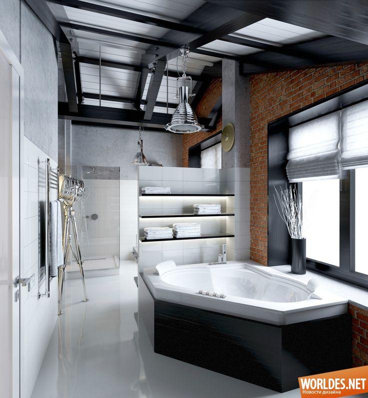 Роскошные ванные комнаты фото 28