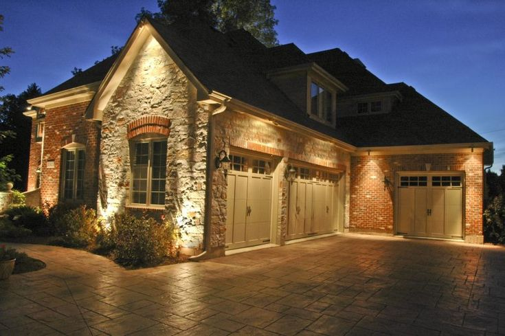 24 best images about outdoor garage lighting on pinterest for Exterior home lighting design