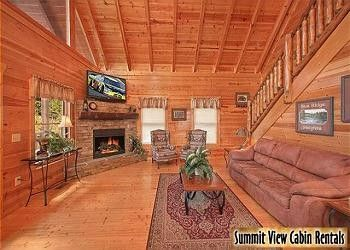 Blue Ridge Heights   4 Bedroom Gatlinburg Cabin Rental