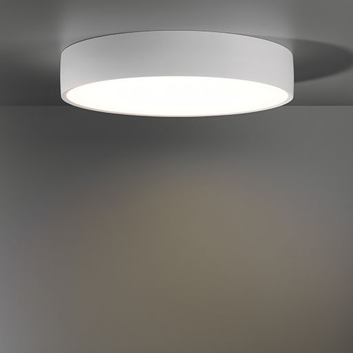 Flat moon light fitting 450 600 900 dia recessed surface fix or pendant