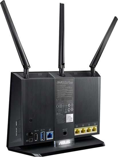 Asus RT-AC1900P Dual-Band Wireless AC-1900 Gigabit Router