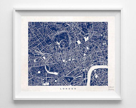 Best 25 London Map Ideas On Pinterest
