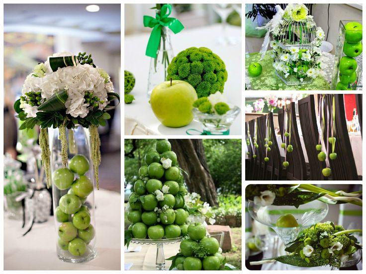 Яблочная весенняя свадьба