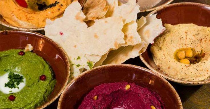 Hummus selber machen ist mit unseren Hummus-Rezepten ganz einfach. Probieren Sie die leckeren Varianten des Dips mit Süßkartoffel und Roter Beete