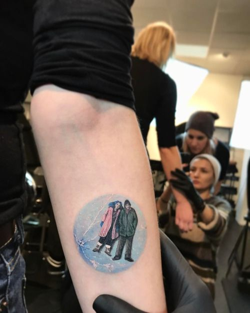 Eternal Sunshine of the Spotless Mind tattoo. WOW!!