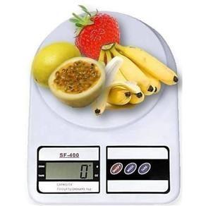 Balança de Cozinha Digital Eletrônica de Precisão SF400 - 1g Até 10kg