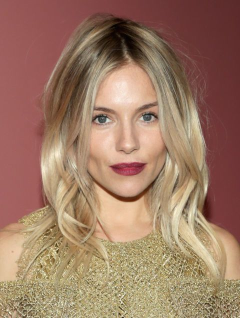 Our original blonde-spiration, Sienna Miller shows us what cool-girl hair really looks like.