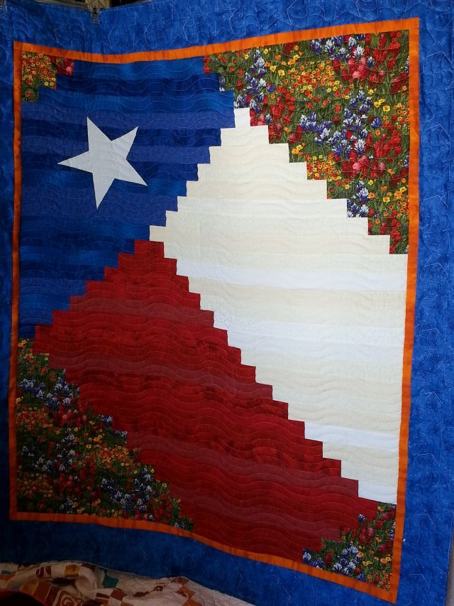 My Quot Texas State Of Mind Quot Texas Pride Quilt Pattern By