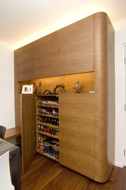 Creative Shoe Cabinet for Elegant Interior Design