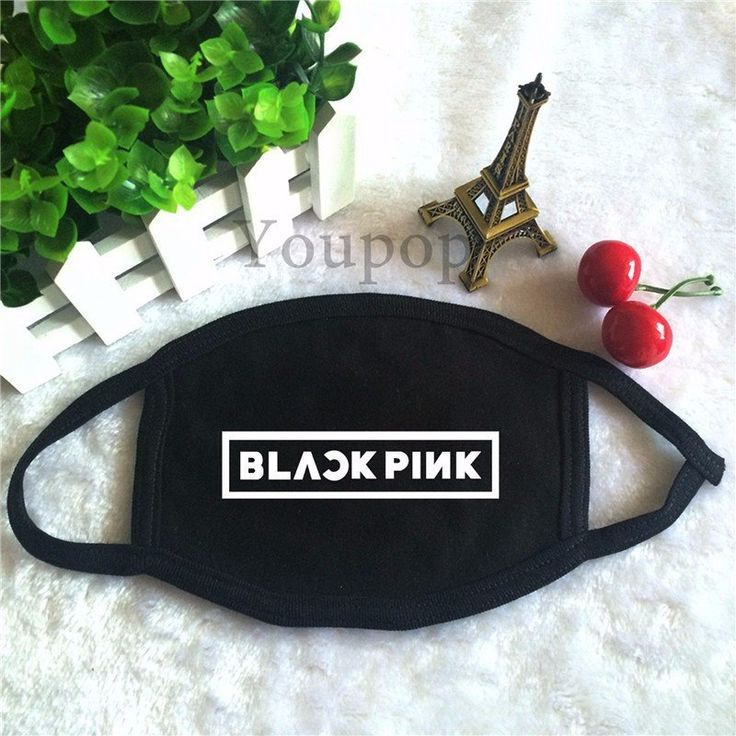 BLACKPINK YG Logo K-Pop Famous GirlBand Cool Trendy Face Mask #BLACKPINK #YG #Logo #K-Pop #Famous #GirlBand #Cool #Trendy #Face #Mask