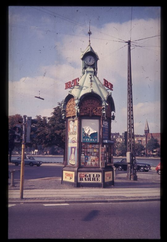 Kiosk Lille Triangel, ca. 1970