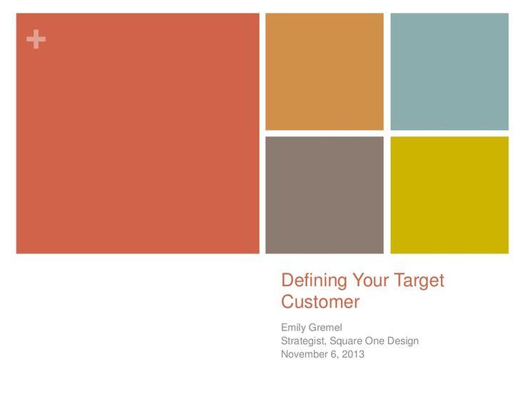 Best 25+ Target customer ideas on Pinterest Business to customer - target market analysis