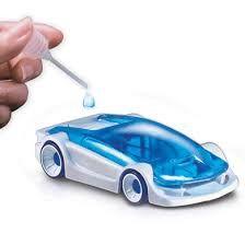 Saltvattensdriven bil
