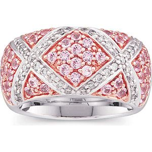 pink sapphire and diamond ring                                                                                                                                                                                 More