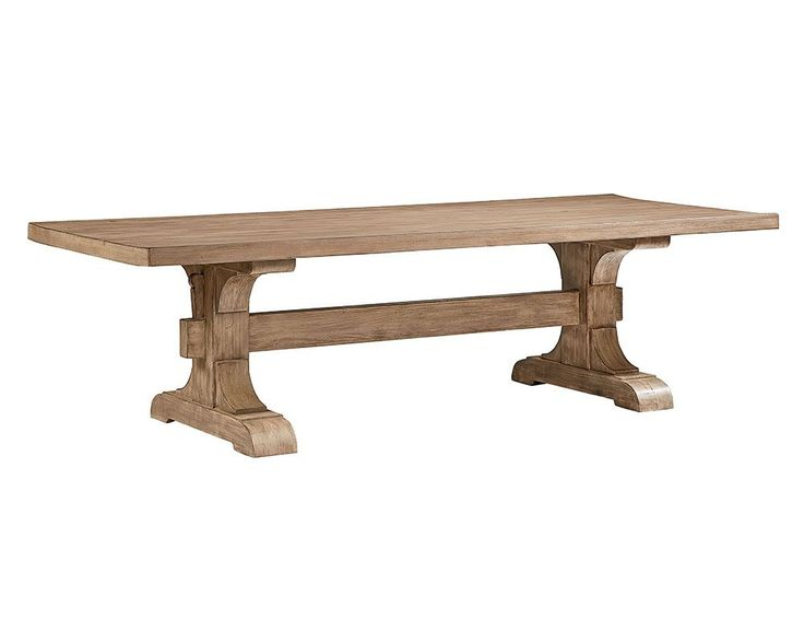 Keyed Trestle Dining Table - Magnolia Home