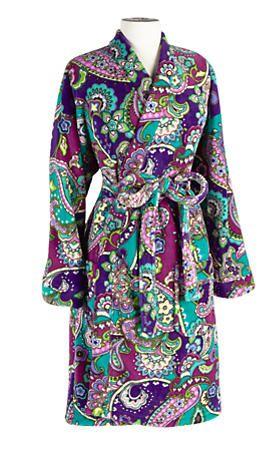 Fleece Robe   Vera Bradley