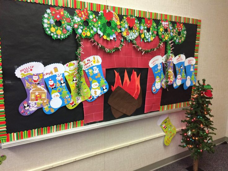 Classroom Wall Decorations For Christmas ~ Best bulletin boards images on pinterest day care