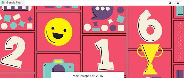 Crea y aprende con Laura: Las Mejores Apps de 2016 según Google Play
