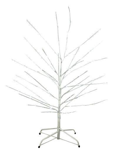 Large Pre-Lit White Twig Tree