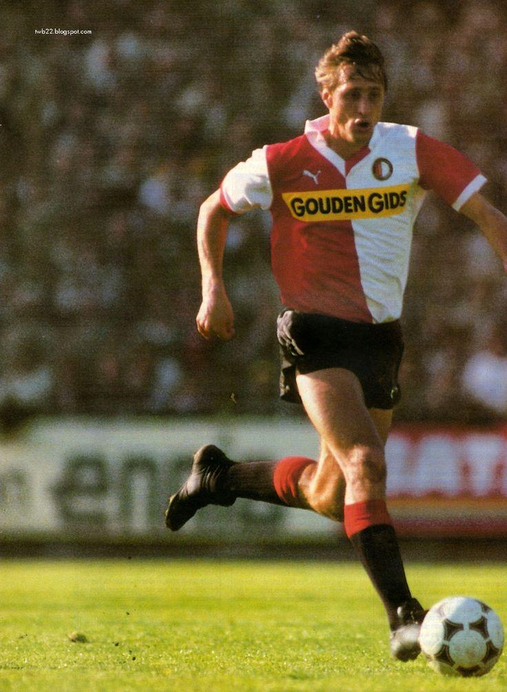 Johan Cruijff aka El Salvador in his Feyenoord period in the Netherlands