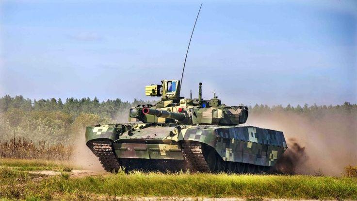 Очередную партию отечественных танков Т-84У