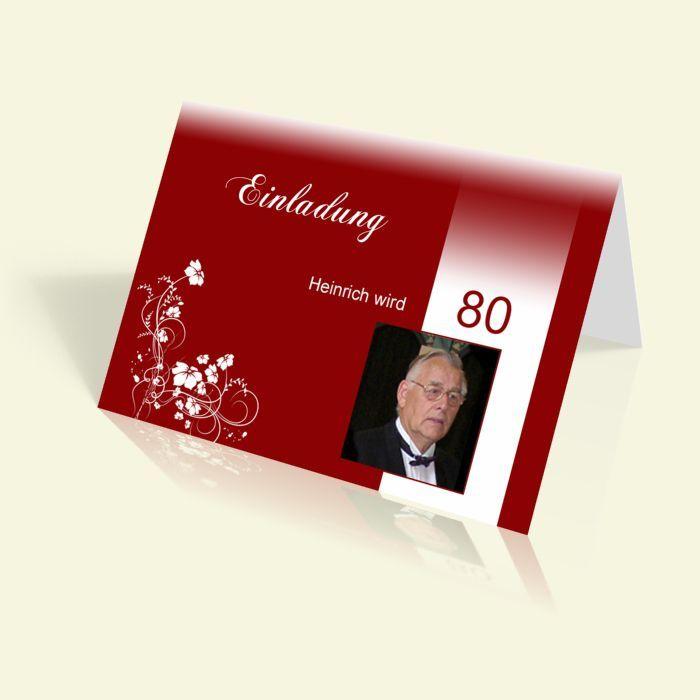 Einladung 80 Geburtstag Brunch Geburtstag Einladung Vorlage