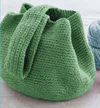 Over 150 free crochet patterns for bags, purses and totes at AllCrafts.net