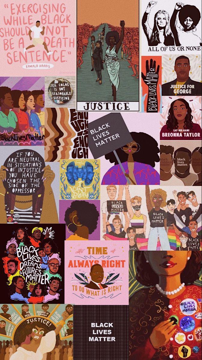 Black Lives Matter Black Lives Matter Art Aesthetic Iphone Wallpaper Black Aesthetic Wallpaper