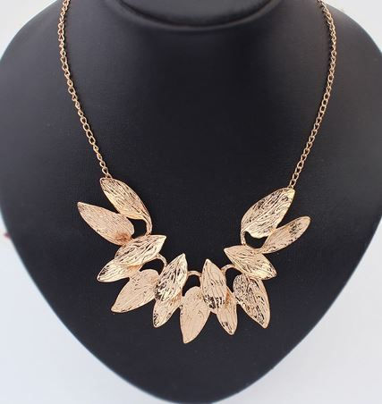 Harvest Leaves Collar Necklace | LilyFair Jewelry, $11.99!