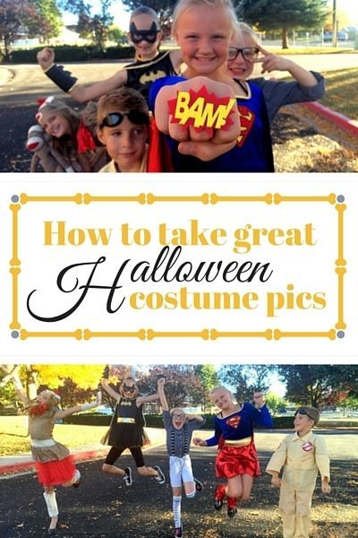 5 tips for Taking the Perfect Halloween Costume Pictures