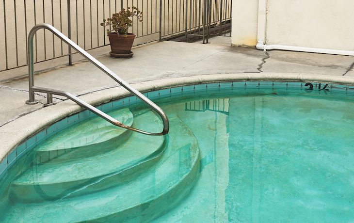 Why Swimming Pools Turn Green Brown Or Black After Adding Chlorine Shock Green Pool Water Swimming Pools Swimming Pool Maintenance