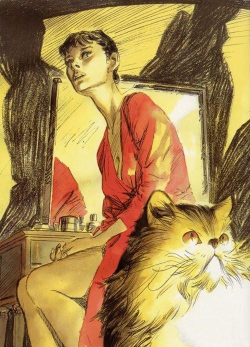 """""""Julia, Avventure di una Criminologa"""" - Julia Kendall è il personaggio di un fumetto italiano creato da Giancarlo Berardi (testi) e Luca Vannini (disegni), con le fattezze di Audrey Hepburn"""
