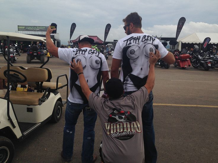 STURGIS 2014 - Our First Vendor Booth at Buffalo Chip by www.igorstshirts.com
