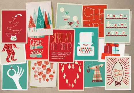 Free Download: Mod Holiday eCards and Desktop Backgrounds