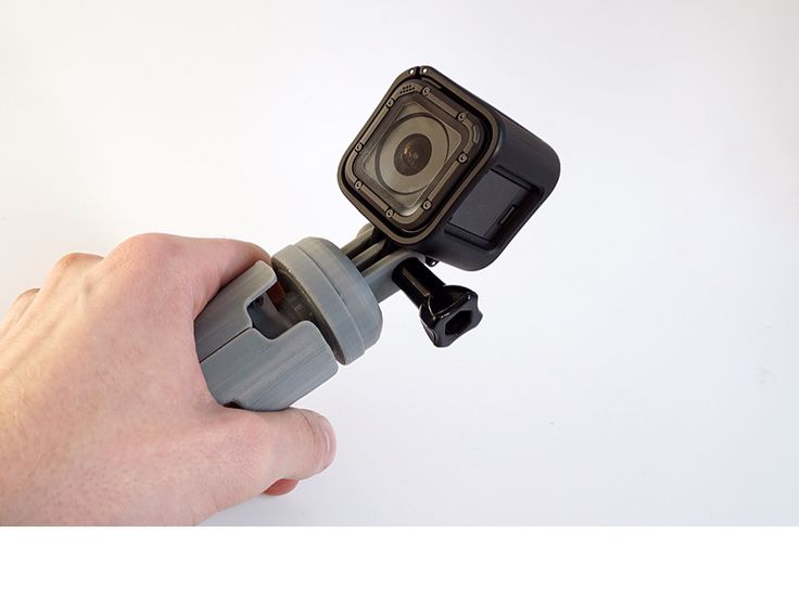 GoPro grip/tripod - a 3D model by Adrian Mankovecký | VECTARY