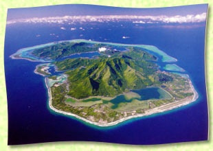 Huahine, TahitiTravel Dreams, Entrance Image