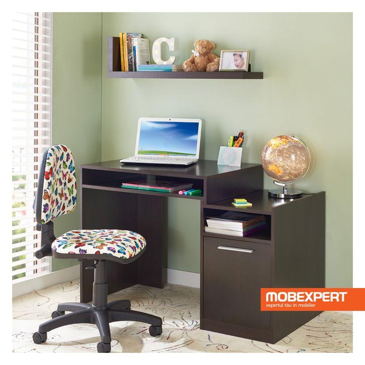 Fiind în creștere, e important să te asiguri că cel mic adoptă o poziție corectă la birou. #birou #scaun #copii