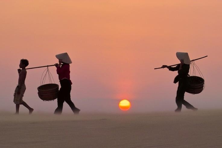 #Sunrise in #Mui Ne http://www.exoticvoyages.com/vietnam/tours/princess-d%E2%80%99annam-%E2%80%93-phan-thiet-luxury-beach-stay