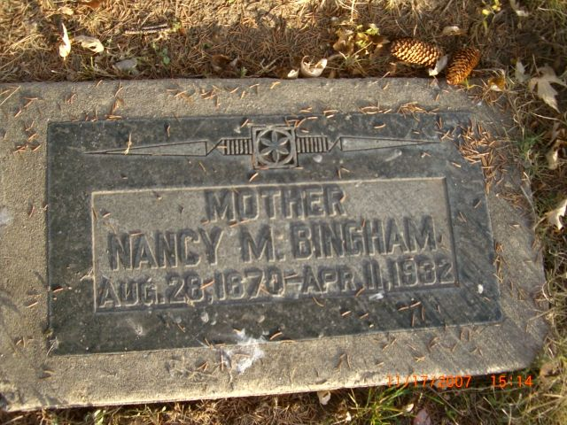 Nancy Marinda Tracy Bingham