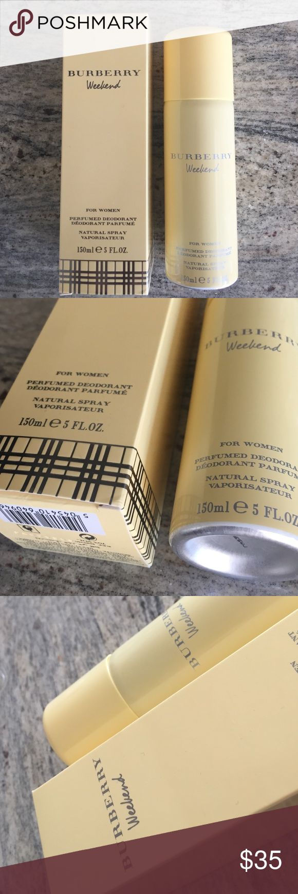 Burberry Weekend deodorant Brand new full bottle Burberry Other