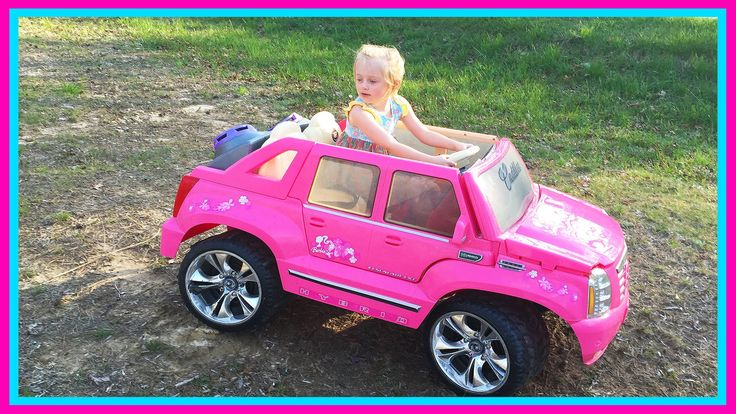 Barbie Power Wheels Ride On Car & Step 2 Roller Coaster Toys for Kids W/...