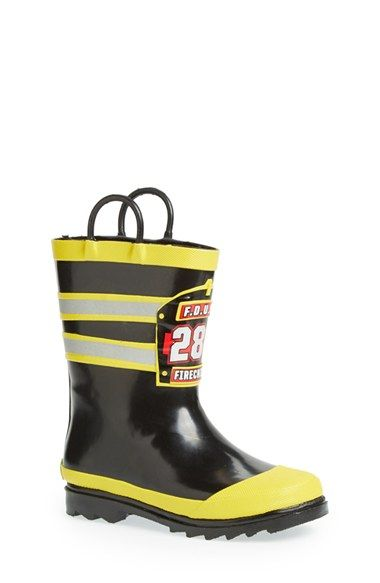Western Chief 'F.D.U.S.A.' Rain Boot (Walker, Toddler & Little Kid) available at #Nordstrom