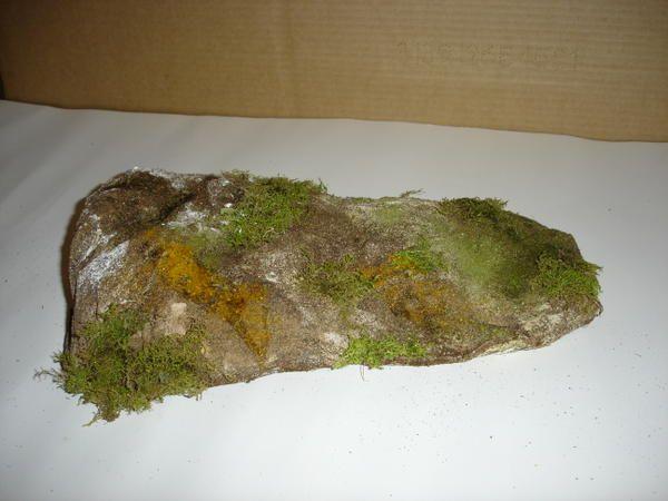Creation de decor pour la creche tuto petite montagne ou - Fabriquer une creche de noel en papier ...