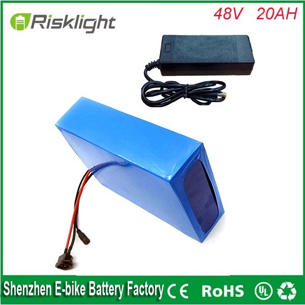 349.6$  Know more - electric  bike battery 1000w 48v battery/48V 20Ah for 48v Bafang/8fun 1000w /750w mid/center drive motor with BMS and Charger   #shopstyle