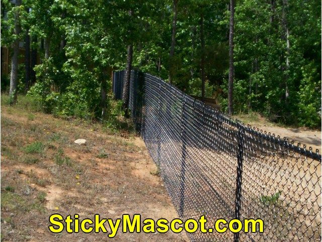 how to build a chain link fence video