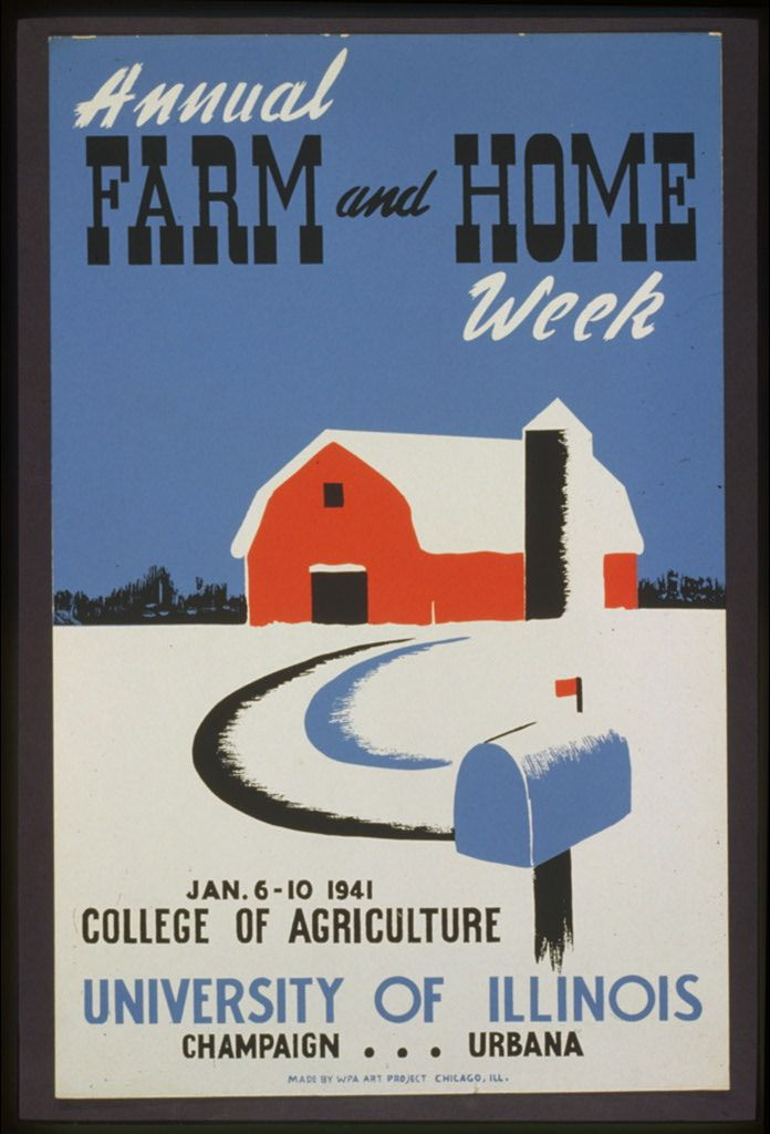 WPA Posters: Farm and Home Week