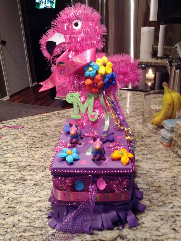 Mallory 39 s fiesta shoebox float