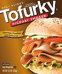 To impart the delicate smoke flavor to Tofurky's vegan Hickory Smoked Deli Slices, we smoke our famous Tofurky recipe in a real smokehouse! Perfect for picnics, lunches or straight out of the pack!