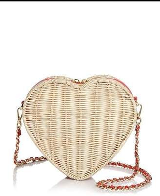 40eb259d6 Shop this Ted Baker Hiilda Heart Medium Straw Crossbody at ShopStyle ...