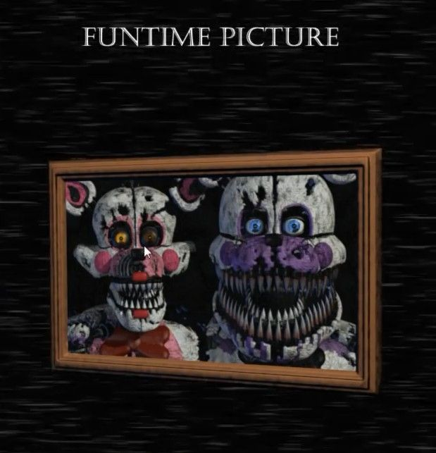 Baby S Nightmare Circus Funtime Foxy And Funtime Freddy Nightmare Funtime Foxy Fnaf